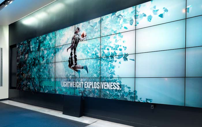 LED Video Walls 2 1 Skyco Media Technologies 49 Inch Video Wall