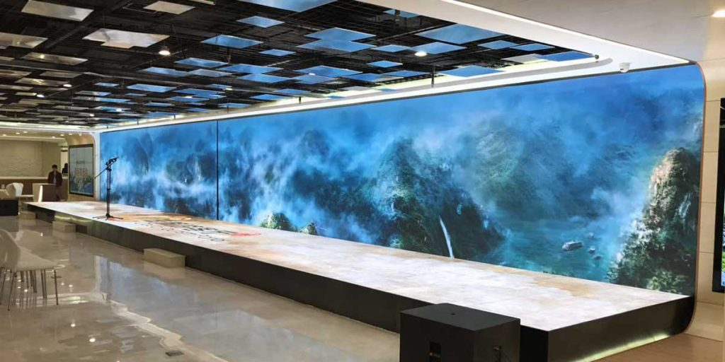 outdoor led video wall Skyco Media Technologies 49 Inch Video Wall